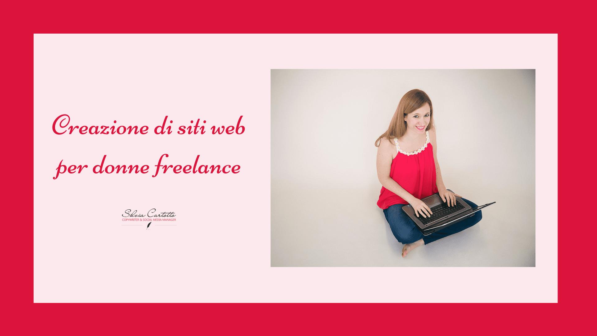 creazione siti web per donne freelance